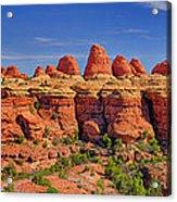 Elephant Canyon Panorama Acrylic Print