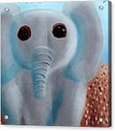Animalart Elephant Acrylic Print