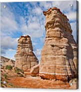 Elephant's Feet Rock Formation Acrylic Print