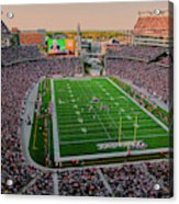 Elevated View Of Gillette Stadium, Home Acrylic Print