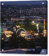 Elevated View Of The 2011 San Mateo County Fair Acrylic Print