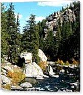 Eleven Mile Canyon Stream Acrylic Print