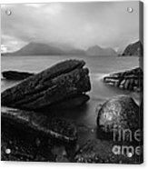 Elgol Beach Isle Of Skye Scotland Uk Acrylic Print