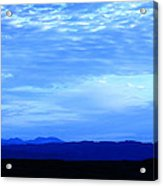 Elgol Sky Acrylic Print