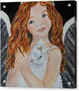 Eliana Little Angel Of Answered Prayers Acrylic Print
