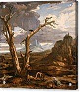 Elijah In The Desert Acrylic Print