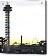 Elitch Gardens Night 2 Acrylic Print