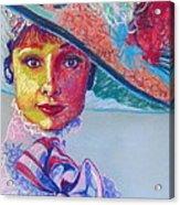 Eliza Doolittle Acrylic Print
