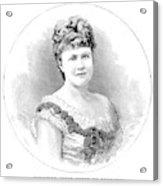 Elizabeth Of Romania (1843-1916) Acrylic Print