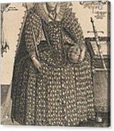 Elizabeth, Queen Of England, C.1603 Acrylic Print