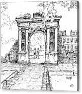 Elizabeth's Gate Acrylic Print