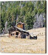Elk Park Homestead Acrylic Print