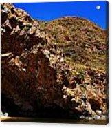 Ellery Creek- Outback Central Australia V2 Acrylic Print