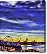 Elliott Bay Acrylic Print