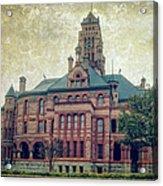 Ellis County Courthouse Acrylic Print