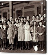 Ellis Island, C1908 Acrylic Print