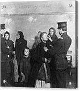 Ellis Island: Inspection Acrylic Print