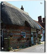 Elm Cottage Nether Wallop Acrylic Print