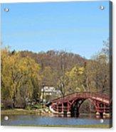 Elm Park Bridge Acrylic Print