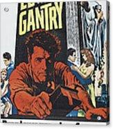 Elmer Gantry, Us Poster Art, Center Acrylic Print