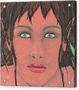 Elven Woman Acrylic Print