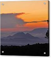 Elvira Sierra At Sunset Acrylic Print