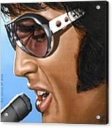 Elvis 24 1970 Acrylic Print
