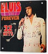 Elvis Album Acrylic Print