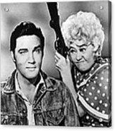 Elvis And Joan Acrylic Print