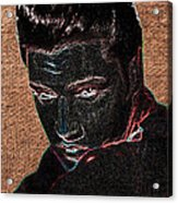 Elvis Art Acrylic Print
