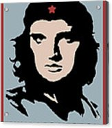 Elvis Che Guevara Viva Las Vegas Acrylic Print