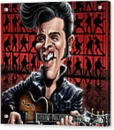 Elvis In Memphis Acrylic Print