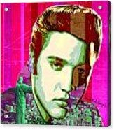 Elvis In Rio Acrylic Print
