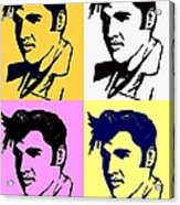 Elvis Pop X Four Acrylic Print