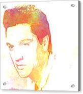 Elvis Presley - 6 Acrylic Print