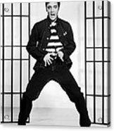 Elvis Presley In Jailhouse Rock 1957 Acrylic Print