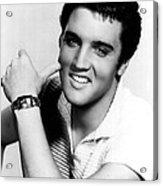 Elvis Presley Looking Casual Acrylic Print