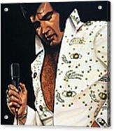 Elvis Presley Painting Acrylic Print