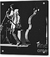 Elvis Presley Performing At The Fox Theater 1956 Acrylic Print