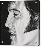 Elvis Presley  The King Acrylic Print