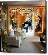 Elvis Presley's Living Room Acrylic Print