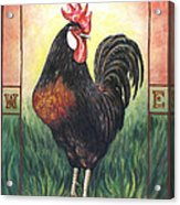 Elvis The Rooster Acrylic Print