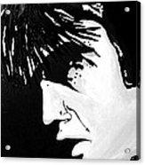 Elvis The Show Must Go On Acrylic Print