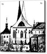 Emauzy - Benedictine Monastery Acrylic Print