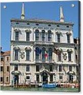 Embassy Building Venice Italy Acrylic Print