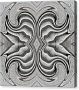 Embellishment In Concrete 3 Acrylic Print