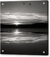 Ember Sunset Acrylic Print