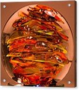 Ember Swirls  Fe1 Acrylic Print
