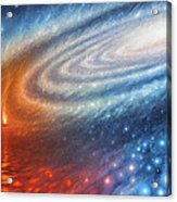 Embers Of Exploration And Enlightenment Acrylic Print