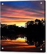Embers Of The Day Acrylic Print